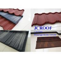 Decorative colorful Stone Coated Steel Shingles roof tile / shingle roofing tile