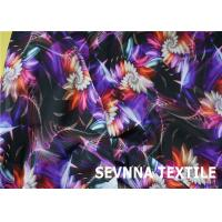 Buy cheap Print 2 Way Stretch Nylon Lycra Fabric Warp Knit Gauge 32 For Junior Swimwear from wholesalers
