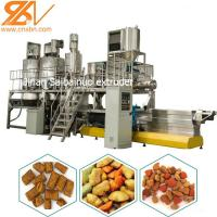 Buy cheap Dry Wet Type Dog Food Processing Equipment Extruder Production Line from wholesalers