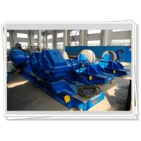 Buy cheap 400ton Bolt Conventional Welding Rotator Adjustable With Steel Wheel from wholesalers