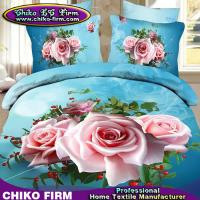 Buy cheap China Supplier 100% High Quality Polyester Rose Print 3D Bedding Sets from wholesalers