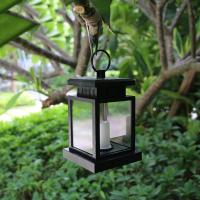 China Sensor LED Solar Candle Lamp 5lm Imitation Twinkle Flash for Garden Umbrellar on sale
