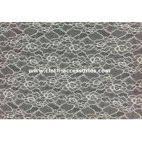 Buy cheap 60 Voile Corded Nylon Lace Fabric High Tenacity For Women Dress SGS / INTERTEK from wholesalers