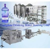 Buy cheap complete drinking water bottling line from wholesalers