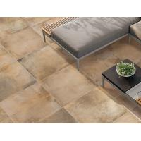 Buy cheap Hand Painted Cement Look Porcelain Tile , Bright 300x300 Floor Tiles from wholesalers