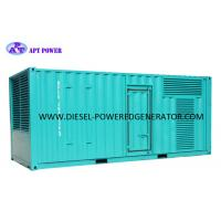 Buy cheap 600kW 750kVA Container SDEC (Shangchai) Power Electric Diesel Generator product