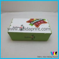 Buy cheap 250g Ivory Paper Dessert Packaging Boxes / Baby Food Packaging For Snacks from wholesalers