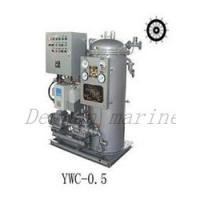 Buy cheap YWC 1.5 marine 15ppm Bilge Separator from wholesalers