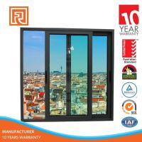 Buy cheap Trade Assurance Covered Aluminum Frame Sliding Glass Window For Hotel Project from wholesalers
