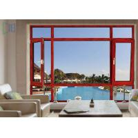 Buy cheap Low - E Aluminium Tilt And Turn Windows Double Glazed With Anti Theft Performance from wholesalers