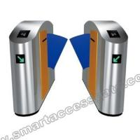 Buy cheap FCC Approved waterproof stainless entrance barrier gate / Biometric system access control swing gate turnstile from wholesalers