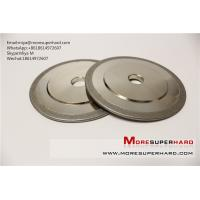 Buy cheap Electroplated CBN grinding wheel for metallic materials industry application miya@moresuperhard.com from wholesalers