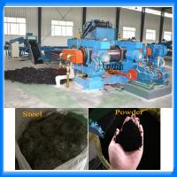 Buy cheap Used tire recycling machine for making rubber powder from wholesalers