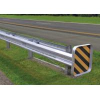 Buy cheap Bridge Road Highway Guard Rail Galvanized / Powder Coated Ultraviolet Proof from wholesalers
