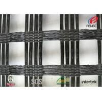 China Polyester Biaxial Geotextile Drainage Fabric , Soil Foundation Geosynthetic Materials on sale