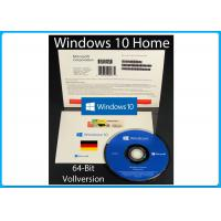 Buy cheap Microsoft Windows10 Home Vollversion SB 64Bit Hologramm-DVD Online Key OEM from wholesalers