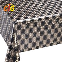 Buy cheap Colorful Custom PVC Shiny Tablecloth Thickness Roll 0.18 Mm Width 137cm from wholesalers