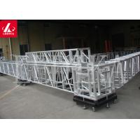 Buy cheap Events Stage Lighting Aluminum Square Truss / Roof  Bolt Truss System from wholesalers