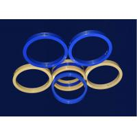 Buy cheap Colorful Industrial Ceramic Wedding Rings Precision Machining Services High Purity from wholesalers