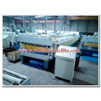 Buy cheap Two Layer Aluminium Corrugating Machine for Metral Long Span and Metrocopo Steptile Roofing Sheet from wholesalers