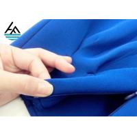 Buy cheap SBR Colored  Neoprene Fabric Sheets Ployester Textured Rubber Sheet from wholesalers