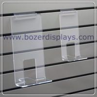 Buy cheap Clear Acrylic Face Out Book Shelf for Slatwall from wholesalers