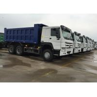 Buy cheap SINOTRUK HOWO Tipper Truck 266HP 6X4 LHD 10 - 25CBM Commercial Dump Truck from wholesalers