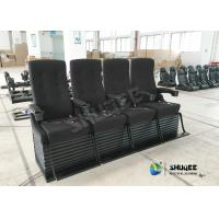 Buy cheap Special Effect Custom 4D Movie Theater Motion 4D Chairs Red / Black For Shopping Mall product