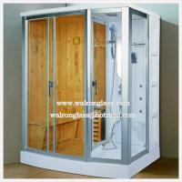 Buy cheap Tempered Glass Shower Screen Shower Room Enclosure Door Toughened Glass from wholesalers