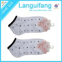 Buy cheap woman ankle socks,woman dot socks ,custom woman socks from wholesalers