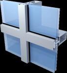 Buy cheap Aluminium Shopfronts Unitized Glass Curtain Wall from wholesalers