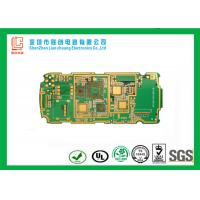 Buy cheap PDA handheld device 1.2mm 8 layer HDI pcb white silkscreen Immersion gold from wholesalers
