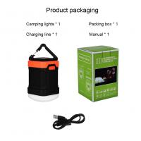 China best camping lantern on the market rechargeable LED camping tent light on sale