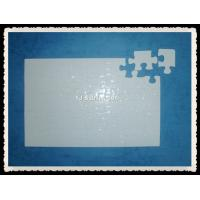 Buy cheap heat transfer puzzle sublimation puzzle 19*9.2-35pcs from wholesalers