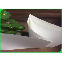 Buy cheap 100g 120g White Kraft Paper Jumbo Roll For Foodstuff Gift Bags / Shopping from wholesalers