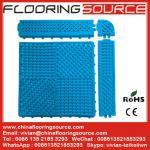 Buy cheap PVC Tile Mat for Swimming Pool mat  Locker Room mat bathroom mat washroom mat from wholesalers