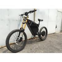 Buy cheap High Speed Full Suspension Adult Electric Bike , Stealth Bomber Ebike For All Terrain from wholesalers