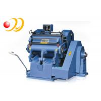 Buy cheap Cardboard Corrugated Board Creasing And Die Cutting Machine Plastic from wholesalers