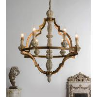 Buy cheap Wood lantern chandelier pendant Lights Fixures (WH-CI-60) from wholesalers