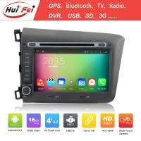 Buy cheap best selling car dvd player car radio for Honda CIVIC 2012 8 inch 2 din car dvd from wholesalers