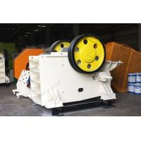 Buy cheap Stable Jaw Crusher Machine , Stone Jaw Crusher 510mm-2100mm Feeding Size from wholesalers