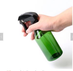 Buy cheap Amber 500ml Plastic Trigger Spray Bottle for Liquid Detergent, Cylinder Barber Shop Hair Spray Bottle product