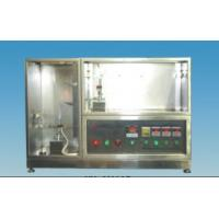 Buy cheap 0.5M3 Flammability Test Equipment H62 Brass Flame Tube 1100×500×900 mm from wholesalers