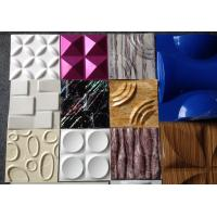 Buy cheap Green Decorative 3D Wall Panels Paneling Textured Wall Tiles For Bathroom from wholesalers