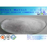 Buy cheap Ethyl Maltol Chemical Food Additives Flavor / Fragrance Enhancer CAS 4940-11-8 from Wholesalers