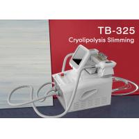 Buy cheap Fat Freezing Weight Loss Machine / Cryolipolysis Vacuum Coolsculpting Machine from wholesalers