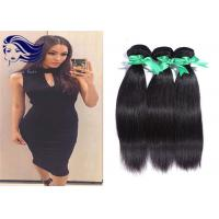 Buy cheap Natural Unprocessed Human Hair Bundles , StraightIndianHair Extensions from wholesalers