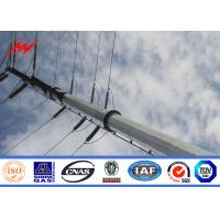 Buy cheap 40ft Q345 Bitumen Electrical Power Pole For Power Transmission from wholesalers