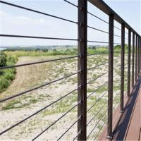 Buy cheap Modern design porch  stairs stainless steel wire cable porch railing from wholesalers