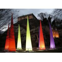 Buy cheap Customized Inflatable Cone Inflatable Lighting Decoration Oxford Cloth from wholesalers